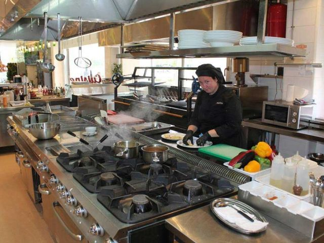 Cocina Restaurante Vacu