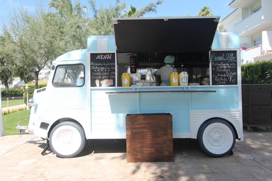 Food Truck en Iberostar Ciudad Blanca, España.