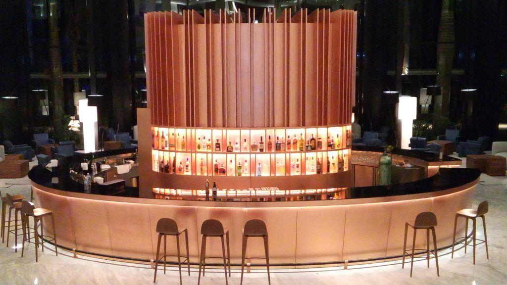 Lobby Bar Hotel Finest. México